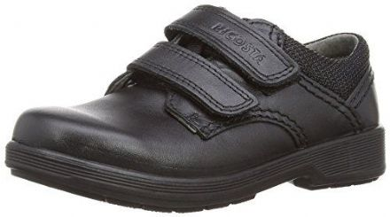 RICOSTA William Leather School Shoe (Black) Widefit